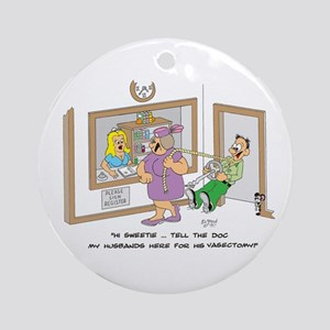VASECTOMY Ornament (Round)
