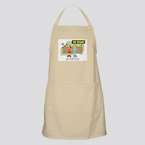 I'm on the PILL BBQ Apron