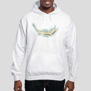 Sanibel Island FL Hooded Sweatshirt