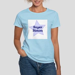 Super Simon Women's Pink T-Shirt
