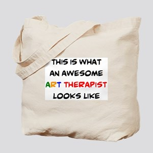 awesome art therapist Tote Bag