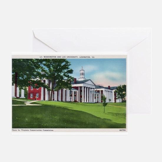 1935 Washington and Lee University Greeting Card