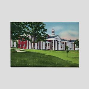 1935 Washington and Lee University Rectangle Magne