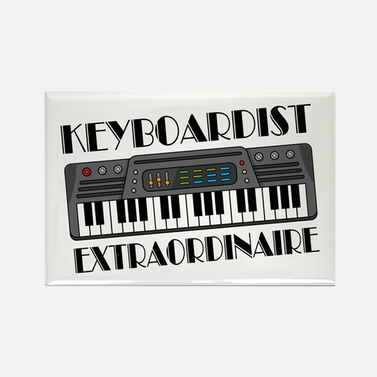 Keyboard Extraordinaire Rectangle Magnet