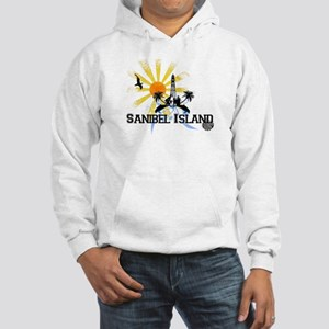Sanibel Island FL Hooded Sweatshirt