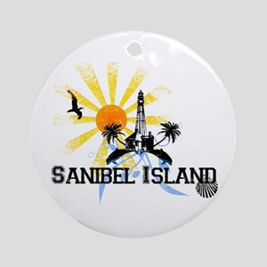 Sanibel Island FL Ornament (Round)