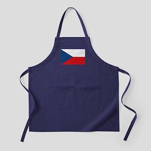 Czech Republic Flag Apron (dark)
