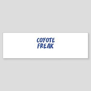 COYOTE FREAK Bumper Sticker