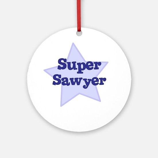 Super Sawyer Ornament (Round)