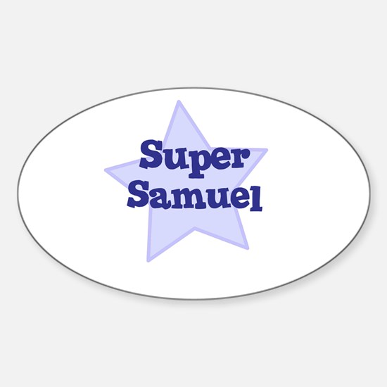 Super Samuel Oval Decal