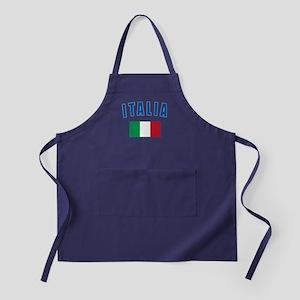 Italian Flag Apron (dark)