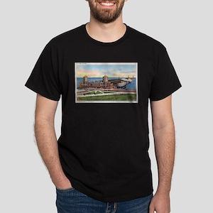 1930's Chicago's Navy Pier Dark T-Shirt