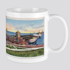 1930's Chicago's Navy Pier Mug