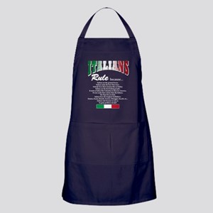 Italians Rules Apron (dark)