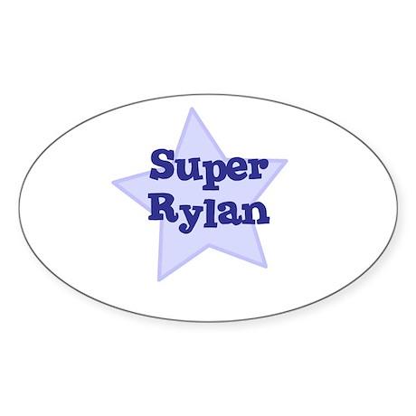 Super Rylan Oval Sticker