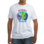 White Fitted Venice T-Shirt
