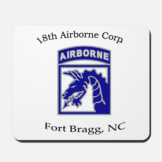 18th ABN Corps Mousepad