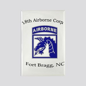 18th ABN Corps Rectangle Magnet