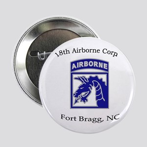 """18th ABN Corps 2.25"""" Button"""