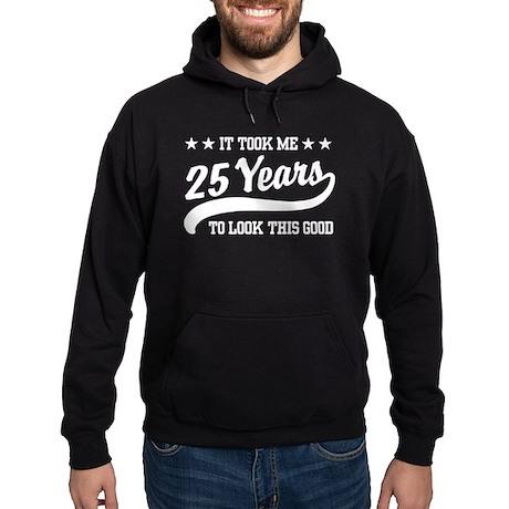 25th Birthday Hoodie (dark)