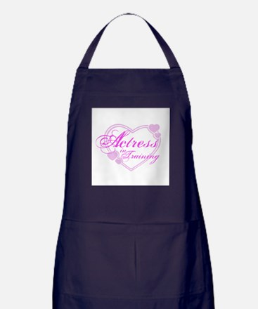 Actress-In-Training Design I Apron (dark)