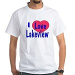 Rebuild Lakeview White T-shirt