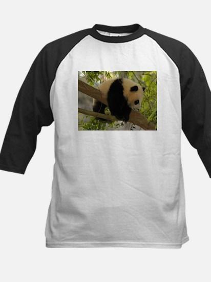Baby Panda Cub Kids Baseball Jersey