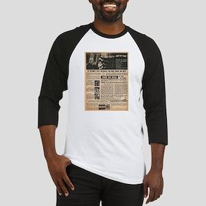 Vintage Self-Defense Ad Baseball Jersey