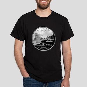 Minnesota Quarter Dark T-Shirt