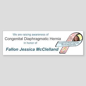 Fallon Jessica McClelland CDH Awareness Ribbon Sti