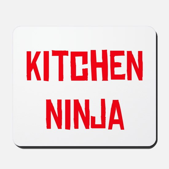 Kitchen Ninja Mousepad