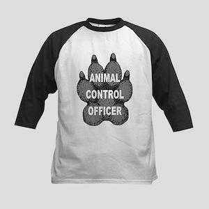Animal Control Officer Kids Baseball Jersey