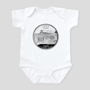 Iowa Quarter Infant Bodysuit