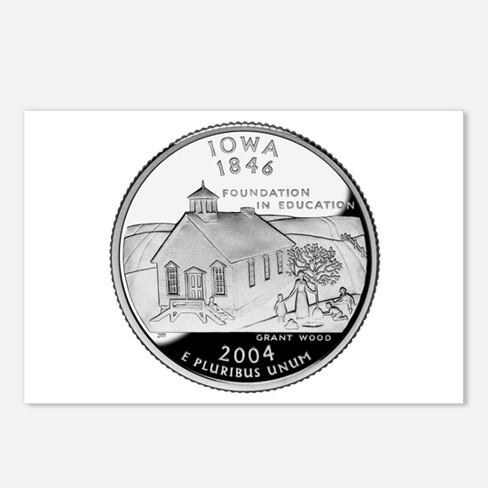 Iowa Quarter Postcards (Package of 8)