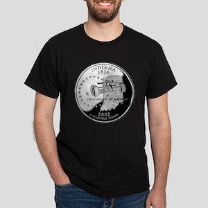 Indiana Quarter Dark T-Shirt