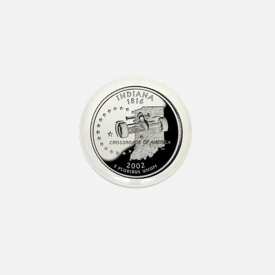 Indiana Quarter Mini Button