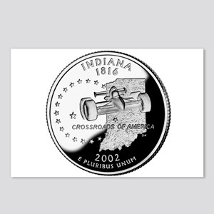 Indiana Quarter Postcards (Package of 8)