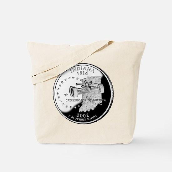 Indiana Quarter Tote Bag