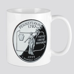Pennsylvania Quarter Mug