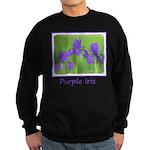 Purple Iris Sweatshirt (dark)