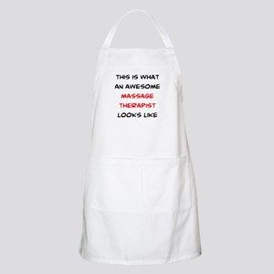 awesome massage therapist Light Apron