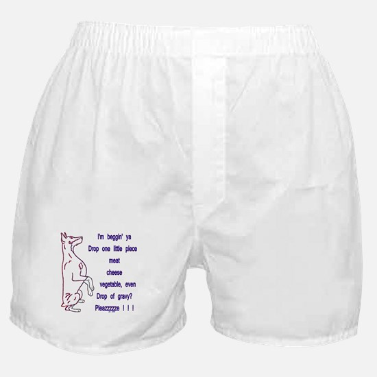 Food Pleazzzze Boxer Shorts