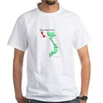 Expecting from Vietnam White T-Shirt