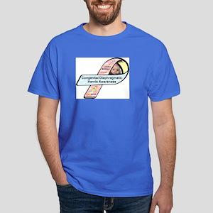 Landon Matthew CDH Awareness Ribbon Dark T-Shirt