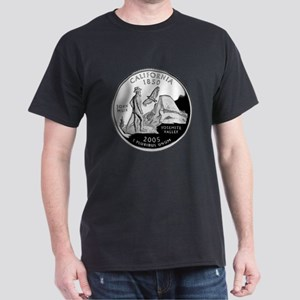 California Quarter Dark T-Shirt