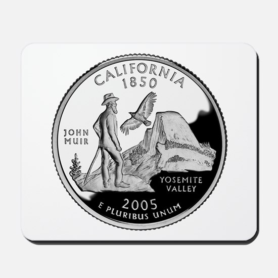 California Quarter Mousepad