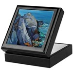Monhegan - Pulpit Rock Keepsake Box