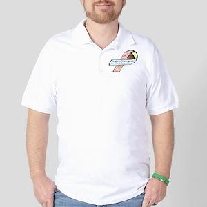 LBJ Roycik CDH Awareness Ribbon Golf Shirt