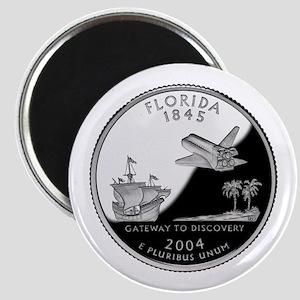 Florida Quarter Magnet