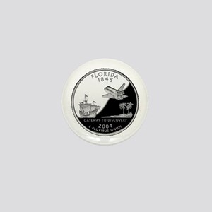 Florida Quarter Mini Button